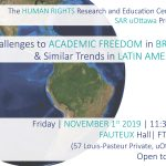 Challenges to Academic Freedom in Brazil and Similar Trends in Latin America