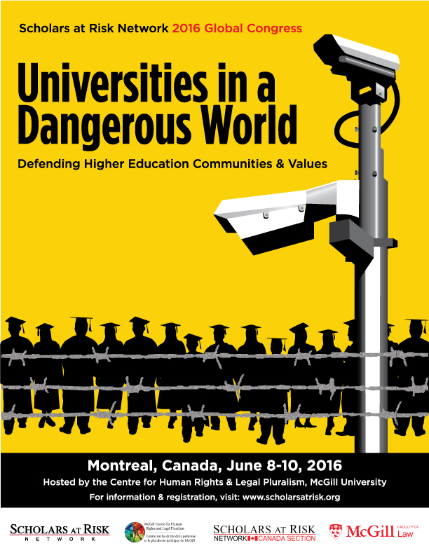 "Join us for our 2016 Global Congress, ""Universities in a Dangerous World"