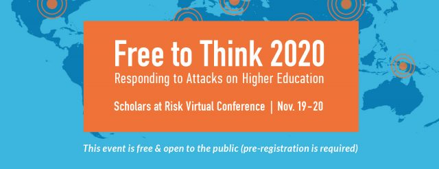 Free to Think 2020 Conference