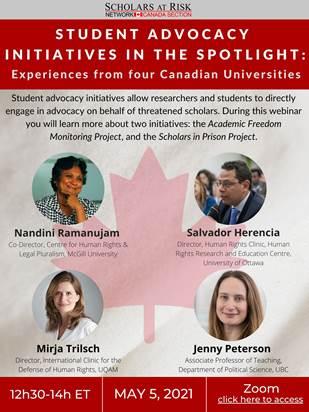 SAR Canada student advocacy initiatives