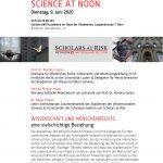 Science at Noon meeting