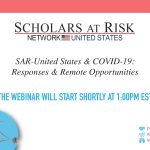 SAR-United States and COVID-19: Responses and Remote Opportunities
