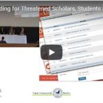 Capacity-Building for Threatened Scholars, Students & Academic Communities (Panel)