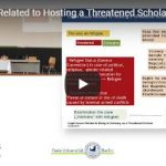 Legal Issues Related to Hosting a Threatened Scholar In Germany