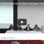 Placements & Fellowships for At-Risk & Refugee Academics & Students (Panel)