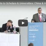 Current Threats to Scholars & Universities: China & Hong Kong