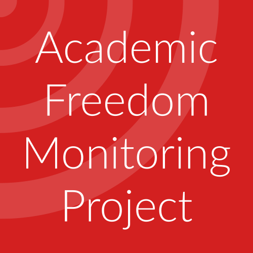 Academic Freedom Monitoring Project