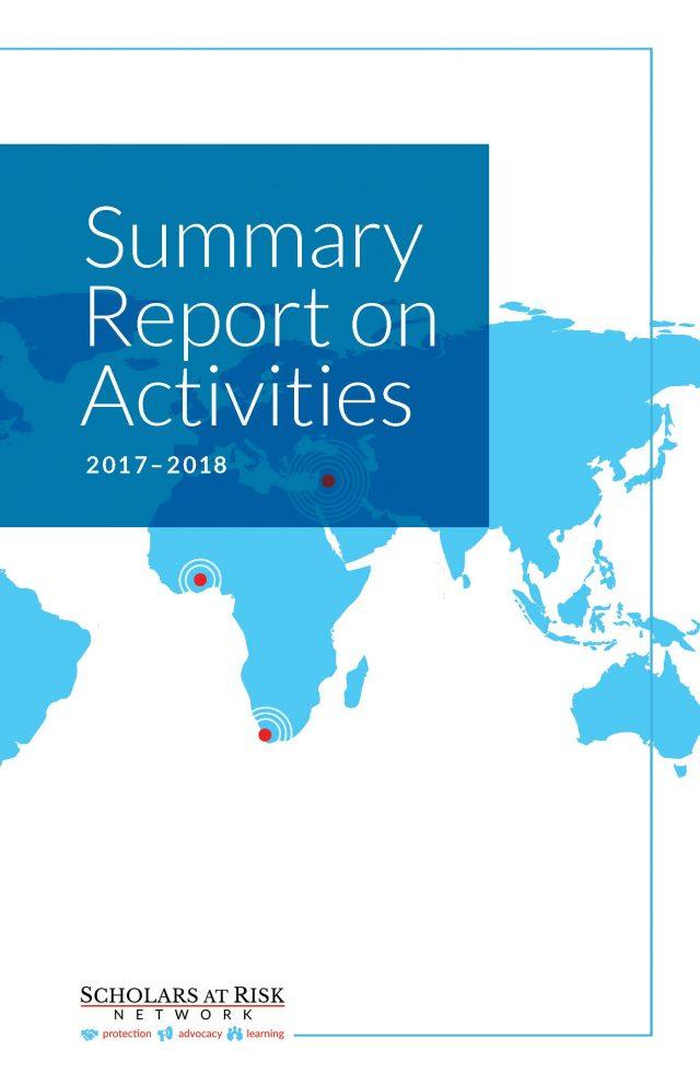 Summary Report on Activities 2017-2018