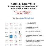 2 anni di SAR Italia - Il racconto di un'esperienza di solidarietà internazionale