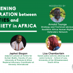 Webinar: Strengthening Collaboration between Academic Institutions and Civil Society Organisations in Africa